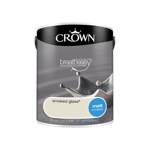 Crown Standard Matt Emulsion - Smoked Glass - 5L