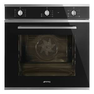 Smeg SF64M3VN 60cm Single Electric Oven - Black