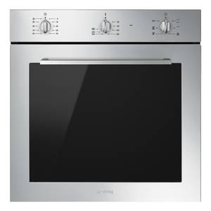 Smeg SF64M3VX 60cm Single Electric Oven - Stainless Steel