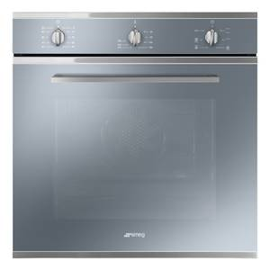 Smeg SF64M3VS 60cm Single Electric Oven - Silver