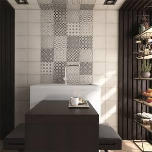 Bulevar Grey Decor Wall & Floor Tile - 200 x 200mm