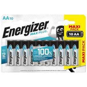 Energizer MAX PLUS Alkaline AA Batteries - 10 Pack