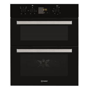 Indesit IDU 6340 BL Built-under Oven - Black