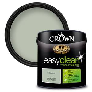 Crown Easyclean 200 Mellow Sage Matt Paint - 2.5L