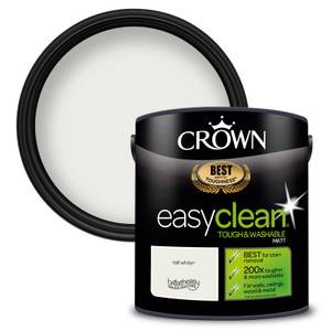 Crown Easyclean 200 Sail White Matt Paint - 2.5L