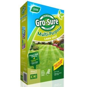Gro-Sure Multi Purpose Lawn Seed -50m2