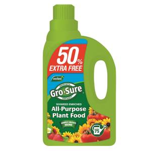 Gro-Sure Super Enriched All Purpose Concentrated Plant Food, 1.5 L