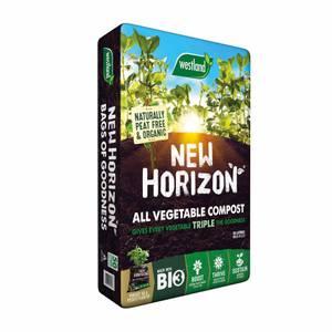 New Horizon Peat Free All Veg Compost - 50L