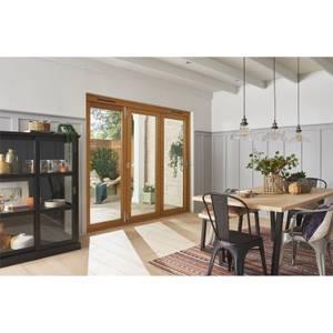 Kinsley Oak Folding Sliding Patio Doorset 2394x2094mm