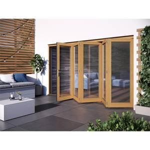 Kinsley Oak Folding Sliding Patio Doorset 3594x2094mm