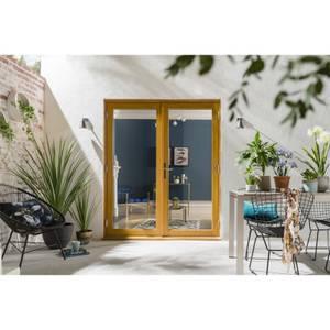 Kinsley Oak French Patio Doorset 1494 x 2094mm