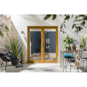 Kinsley Oak French Patio Doorset 1794 x 2094mm