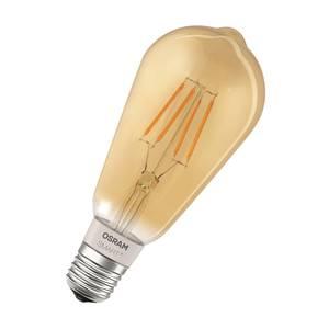 Osram Smart+ Fil ED60 bluetooth Amber ES Light Bulb
