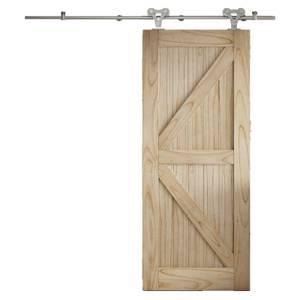 Cottage FLB Sliding Barn Door with Elegant Track 2073 x 862mm