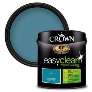 Crown Easyclean 200 Teal Matt Paint - 2.5L