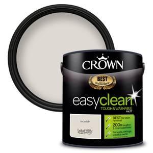 Crown Easyclean 200 Snowfall Matt Paint - 2.5L
