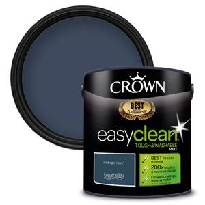 Crown Easyclean 200 Midnight Navy Matt Paint - 2.5L