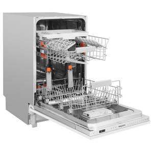 Hotpoint Ultima LSTF 9H123 C L Integrated Slimline Dishwasher - Stainless Steel