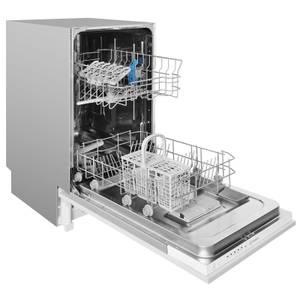 Indesit DSIE2B10UK Integrated Slimline Dishwasher - Silver