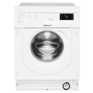 Hotpoint BI WMHG 71484 Uk Integrated Washing Machine - White