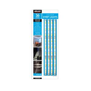 Arlec 4 Cool White Strip Light Pack