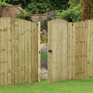 Dome Tongue & Groove Gate - 6ft