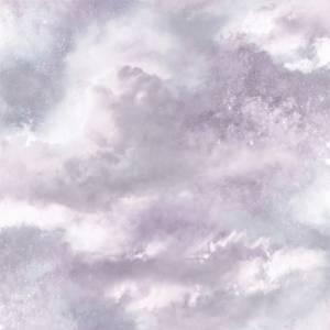 Arthouse Diamond Galaxy Cloud Textured Glitter Lilac Wallpaper
