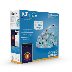 TCP WiFi Tape Light Colour Changing 3M