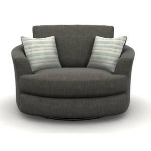 Amethyst Twister Chair - Slate