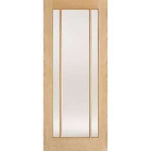 Lincoln Internal Glazed Prefinished Oak 3 Lite Door - 762 x 1981mm