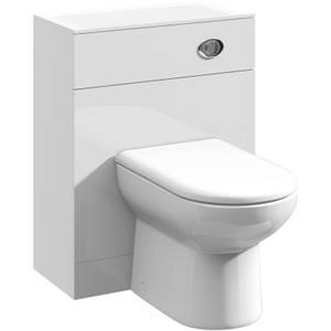 Balterley Orbit 600x330mm WC Unit - Gloss White