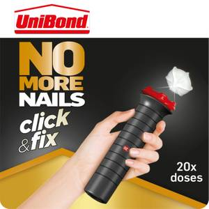 UniBond No More Nails Click & Fix Grab Adhesive 30g