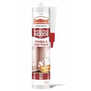 UniBond Indoor Sealant Window & Door White Cartridge - 300ml