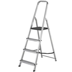 Werner High Handrail Step Ladder - 4 Tread