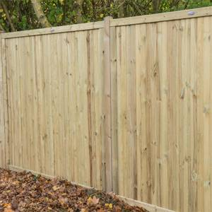 Forest Noise Reduction Fence Panel - 6ft - Pack of 3