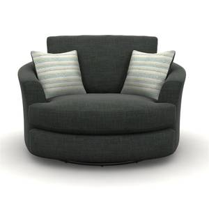 Amethyst Twister Chair - Charcoal