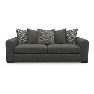 Lewis 3 Seater Sofa - Charcoal