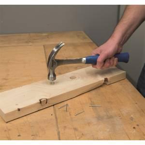 Silverline Solid Forged Claw Hammer - 16oz (454g)