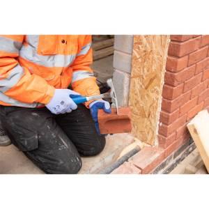 Silverline Solid Forged Brick Hammer - 20oz (567g)