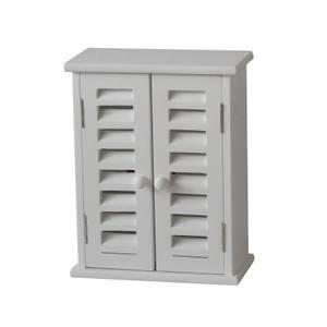Key Storage Unit - White Paulownia
