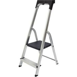 Werner High Handrail Step Ladder with Tool Tray - 2 Tread