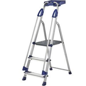 Werner Workstation Step Ladder - 3 Tread