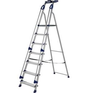 Werner Workstation Step Ladder - 7 Tread