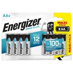 Energizer MAX PLUS Alkaline AA Batteries - 8 Pack