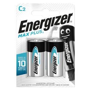 Energizer MAX PLUS Alkaline C Batteries - 2 Pack
