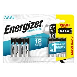 Energizer MAX PLUS Alkaline AAA Batteries - 8 Pack