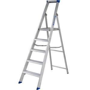 Werner MasterTrade Platform Step Ladder - 5 Tread