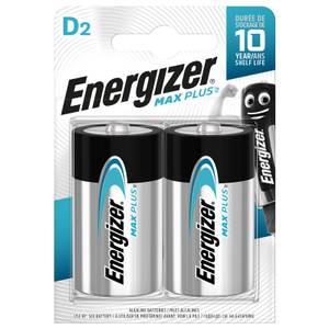 Energizer MAX PLUS Alkaline D Batteries - 2 Pack