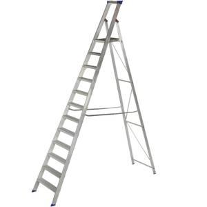 Werner MasterTrade Platform Step Ladder - 12 Tread