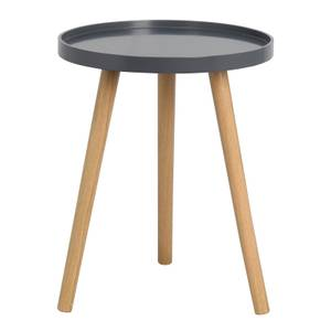 Tray Side Table - Dark Grey